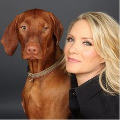 Beautiful Dana Perino and Jasper