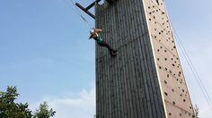 Onze stagiaire Anne gaat van de #Giant #Swing