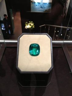 The Imperial Emerald. A stunning 206 carat Columbian emerald. The stone has earned the highest grade certificates from global gemological entities, making this gem one of the most important and historic gemstones.