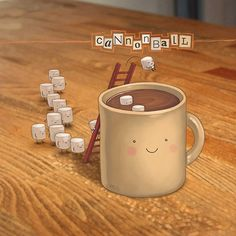 Cannonball! by Jason Kotecki #hotchocolate