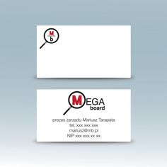 business card for outdoor ad company