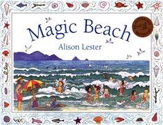 'Magic Beach' is a beach where anything is possible! In Alison Lester's book you canexplore rock pools, shells, swim in the beautiful sea, build amazing sandcastles, go fishing, play about in boats,& evenbuild a bonfire under the stars. The detailed illustrations transport you to prefect sunny seaside days, & the rhyming text is imaginative,fun, & easy to recall. A perfect seaside holiday read, or a perfect book to dive intoon a rainy cold day!