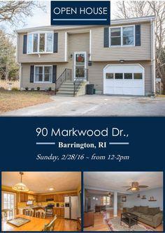 OPEN HOUSE! Barrington Rhode Island 90 Markwood Drive