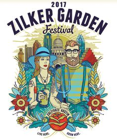 This weekend is the 60th Zilker Garden Festival!  Celebrate the one-stop, garden shopping destination  at this family-friendly event! The garden festival offers something for everyone