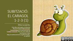 RECURSOS PARA LA ETAPA DE EDUCACIÓN INFANTIL: SUBITACIÓN: EL CARACOL Subitizing, Fruit, Montessori, Hug, Math, Animals, Math Games, Snails, Mathematics