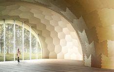 Visualization of the Landesgartenschau Exhibition Hall
