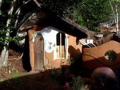 cob eco building village - cobville tour 1 of 2