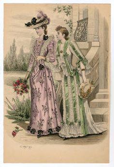 1895-1898, Plate 071 :: Costume Institute Fashion Plates