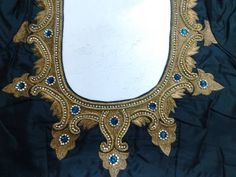 This type name is maggam embroidery design Zardosi Embroidery, Tambour Embroidery, Embroidery Works, Mirror Work Blouse, Hand Work Blouse, Sari Blouse Designs, Designer Blouse Patterns, Indian Embroidery Designs, Indiana