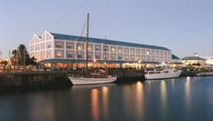 Victoria and Alfred Hotel - This landmark hotel is perfectly situated in the heart of the Victoria and Alfred Waterfront and offers spectacular views of the working harbour and Table Mountain. It is only a safe walk to some of the ... #weekendgetaways #vandawaterfront #southafrica