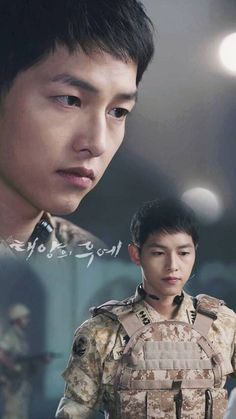 Song Joong-ki Yoo Shi-jin Descendants of the sun Korean Actresses, Korean Actors, Asian Actors, Song Hye Kyo, Song Joong Ki Dots, Desendents Of The Sun, Soon Joong Ki, Sun Song, A Werewolf Boy