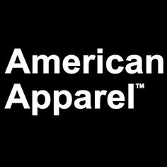 The American Apparel logo. Customisable and imprintable garments and accessories by American Apparel are available from Pier32 Ethical Promotional Clothing. Please visit our website at www.pier32.co.uk/brand/american-apparel/ to see the full range of t-shirts, hoodies, tops, sportswear, childrenswear, underwear and bags from American Apparel.