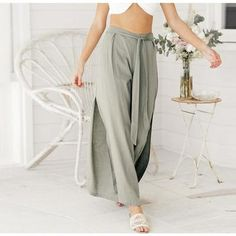 Bottoms 2018 New Hot Women Loose Leisure Versatile Wide Leg Harem Pants Elegant In Smell