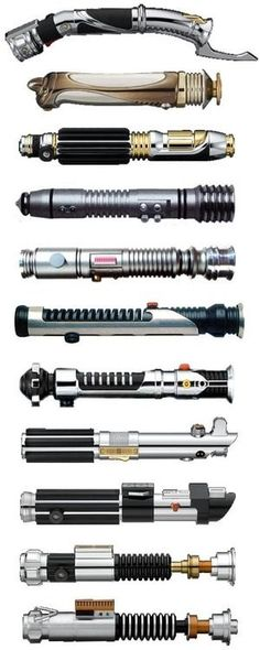 Lightsabers | Yep! Geek | Pinterest