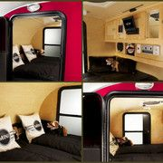 The MINI Cowley teardrop trailer is actually the Camp Runner Alpina DLX.