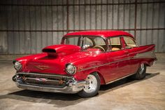1957 Chevrolet Bel Air Pro-Street...Re-pin Brought to you by agents at #HouseofInsurance in #EugeneOregon for #CarInsurance