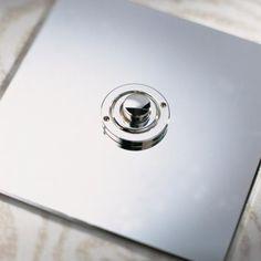 Nickel Silver Button Dimmer Controller