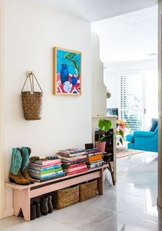 House Tour: Artist Jenny McCown's Australian Home | Artist Jenny McCown doesn't have a specific style; she just creates spaces that make her happy. (And chances are her colorful Australian home will make you happy, too!)