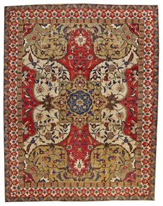 Tabriz carpet, Northwest Persia, late 19th century,