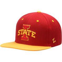 newest 4c69c 32879 Men s Zephyr Cardinal Gold Iowa State Cyclones Z11 Snapback Adjustable Hat