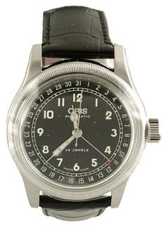 Oris Men's 754 7543 4064LS Big Crown Pointer Date Aviation Watch Oris. $747.50. Date feature. Water-resistant to 165 feet (50 M). Stainless steel. Luminous  hands. Skeleton back with mineral glass. Save 32%!