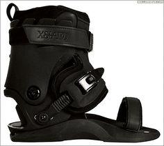 Xsjado 2.0 White skeleton aggressive skates boot only
