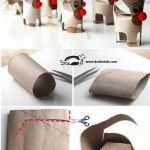 Toilet Roll CHRISTMAS DEER