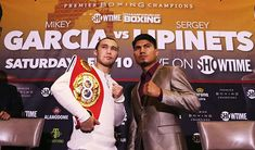 Mikey Garcia vs Sergey Lipinets - Boxing, March 10, 2018 on Showtime  http://bit.ly/2IdEmDM