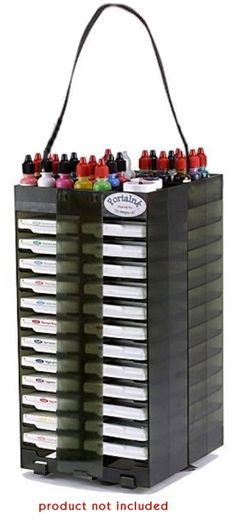 Best Craft Organizer - PortaInk Dual Swivel Traveler at Scrapbook.com $47.99