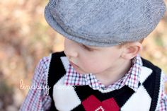 www.lindsayrenee.com little boy + neswboy hat.  nothing better!
