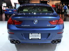 Look at that butt!  2015 BMW Alpina B6 xDrive Gran Coupe: 2014 New York Auto Show Live Photos