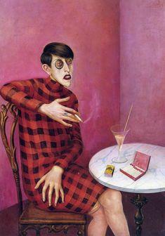 Portrait of the Journalist Sylvia Von Harden by Otto Dix - 1926