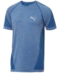 PUMA Puma Men'S Evoknit Ultra-Soft Seamless Performance T-Shirt. #puma #cloth #shirts