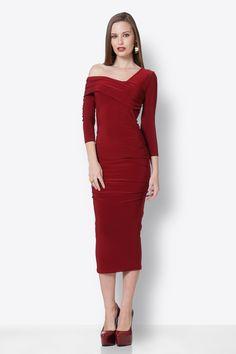 Red Midi Dress Red Midi Dress, Dresses For Work, Skirts, Pants, Fashion, Trouser Pants, Moda, Fashion Styles, Skirt