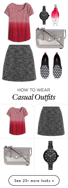 """Casual 27"" by aki-g on Polyvore featuring Topshop, ESCADA, Marc Jacobs and MICHAEL Michael Kors"