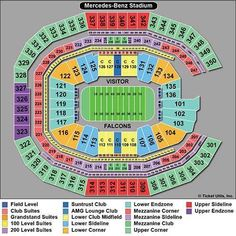 #tickets 4 SEC CHAMPIONSHIP FOOTBALL TICKETS MEZZANINE 201 - WEST SIDE PLUS 4 FanFare please retweet