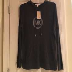 Spotted while shopping on Poshmark: NWT Michael Kors Lightweight Hooded Pullover! #poshmark #fashion #shopping #style #Michael Kors #Tops