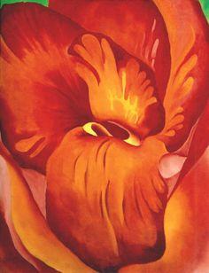 Georgia O'Keeffe. Canna Red and Orange, 1922  http://img-fotki.yandex.ru/get/4403/37844013.b6/0_5ea9b_ee88e522_orig