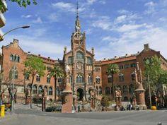 Barcelona Hospital de la Santa Creu Sant Pau