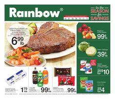 Rainbow Flyer Dec 6 - 12, 2015 - http://www.kaitalog.com/rainbow-weekly-ad.html