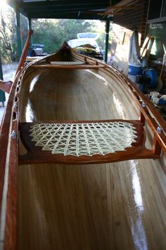 Maintaining Your Kayak to Last Forever - Way Outdoors Wood Canoe, Wooden Kayak, Plywood Boat Plans, Wooden Boat Plans, Wooden Boat Building, Boat Building Plans, Canoe Seats, Boat Blinds, Classic Wooden Boats