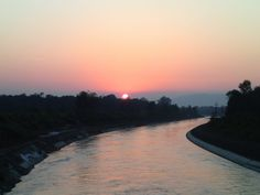 Sunset in the Rishikesh forest