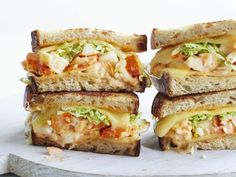 Plan ahead for your first summer party and add Katie Lee's lobster Reuben sandwiches to the menu.