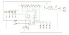 Circuit diagram for the EasyDriver + Arduino manual