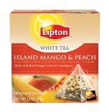 Review: Lipton White Tea with Island Mango and Peach Flavors | Delecteable