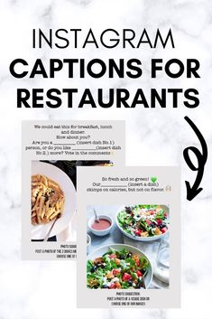 Restaurant Recipes, Restaurant Plan, Restaurant Exterior, Rustic Restaurant, Cafe Food, Food Menu, Food Truck, Food Captions For Instagram, Restaurant Marketing Strategies