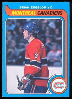 1979-80-OPC-O-PEE-CHEE-361-BRIAN-ENGBLOM-RC-NM-MONTREAL-CANADIENS-HOCKEY-CARD Montreal Canadiens, Hockey Cards, Baseball Cards, Nhl, Der Club, Canadian History, Faith Hill, Hockey Players, Ice Hockey