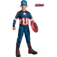 Avengers 2 Captain America Costume for Kids