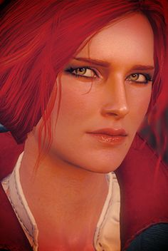 My dream girl. The Witcher Books, The Witcher Game, The Witcher Wild Hunt, Witcher Art, Triss Merigold Witcher 3, Ciri, Triss Cosplay, Redhead Characters, Epic Backgrounds