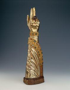 Arm Reliquary of Saint Bernward - Date: ca. 1194. Culture : German ( Hildesheim )